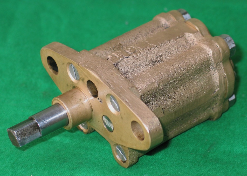 Fully restored oil pump completed by us.