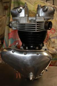 restored 1960 Triumph thunderbird engine