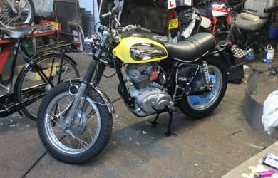 1973 Ducati 350 Sebring restoration