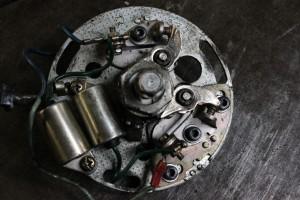 Honda CB400 points ignition