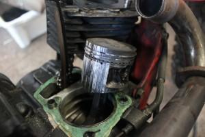 oversize piston
