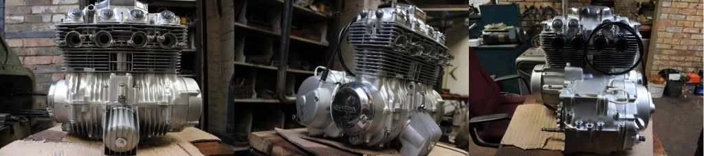 Honda CB400 complete engine
