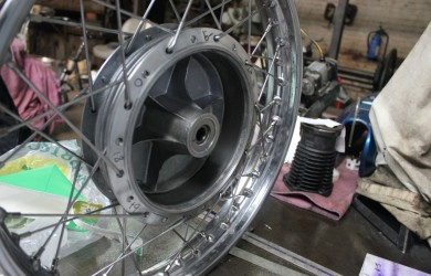 Motorcycle Wheel Building And Restoring