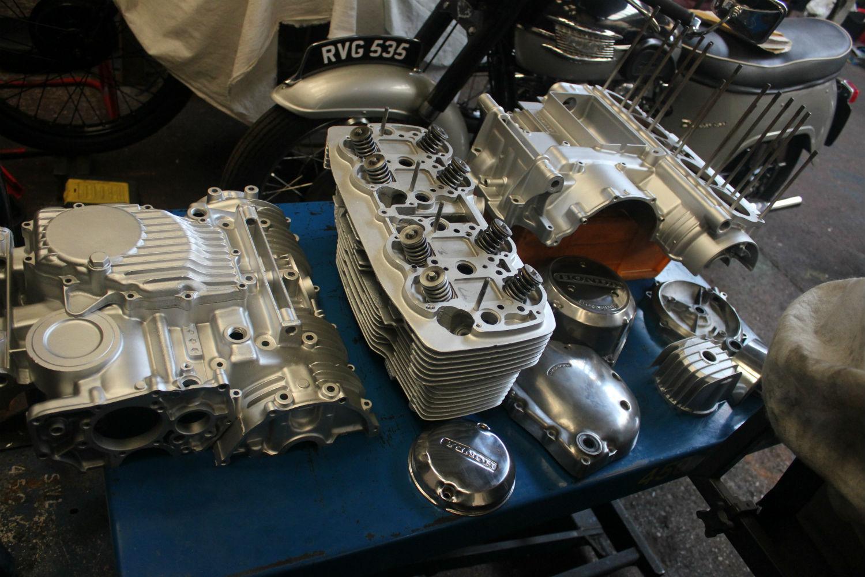 Stotfold Engineering Company Limited Rickman Honda CB750