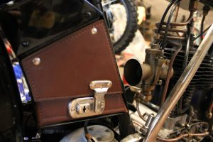 BSA B29 1929 restored lock box