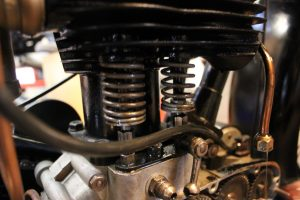 BSA B29 1929 restored return spring