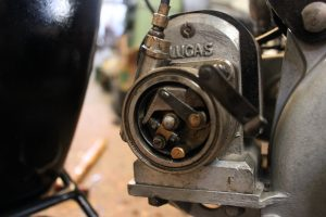 BSA B29 1929 restored points ignition