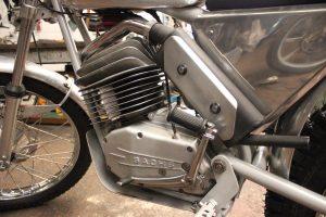 Wassel 125cc engine side