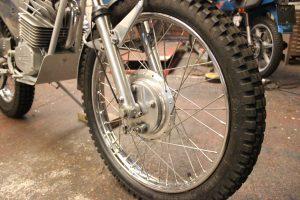 Wassel 125cc wheel