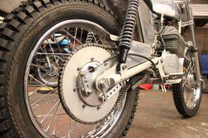 Wassel 125cc back wheel