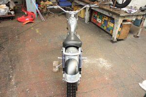 Wassel 125cc back of bike