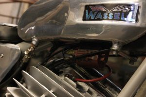 Wassel 125cc tank and cylinder head