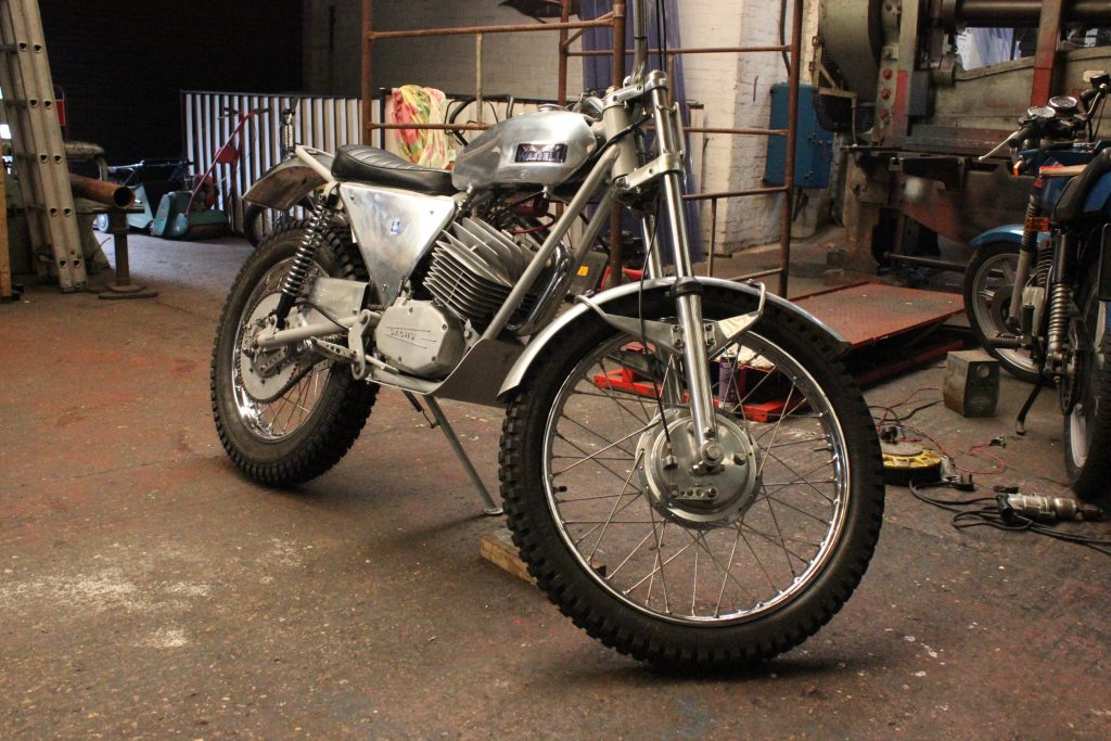 Wassel 125cc complete restoration